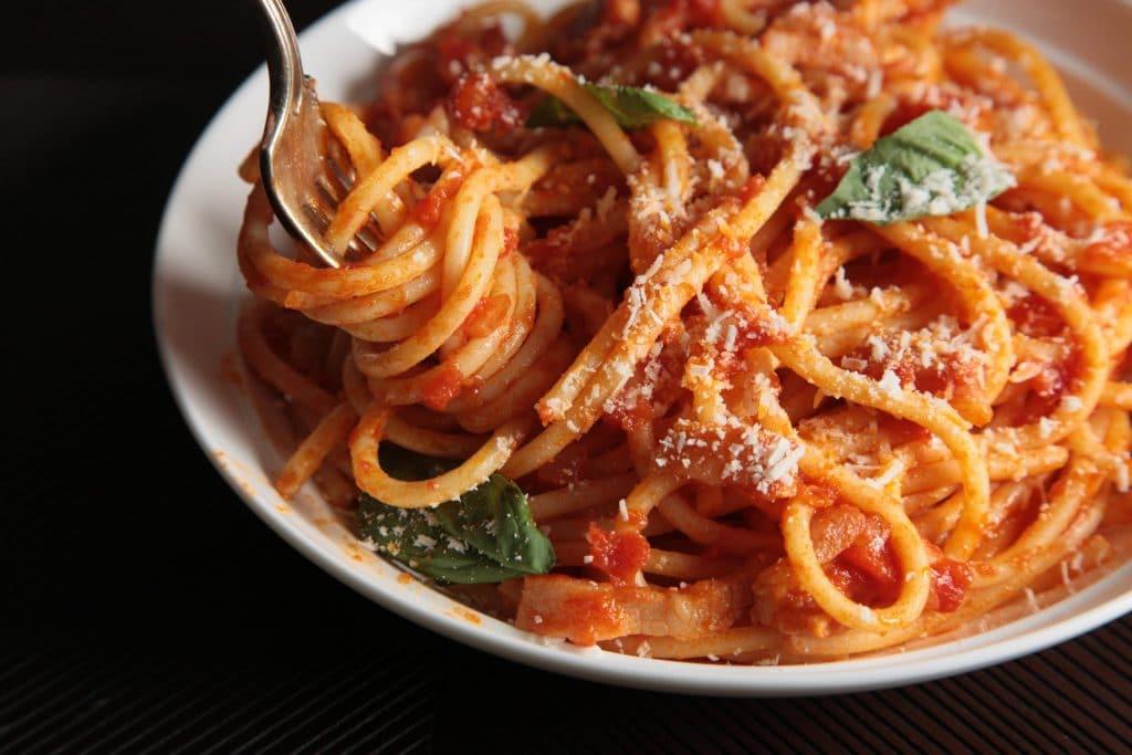 Спагетти Аматричана (Spaghetti alla Amatriciana)